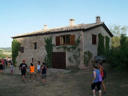 La façana nord de Fontcendra