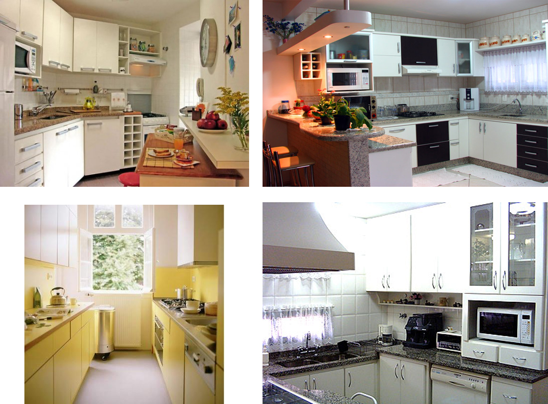O meu mundo aleat rio decorar cozinhas pequenas - Casas super pequenas ...