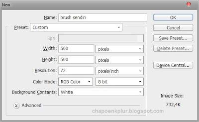 Cara Membuat Brush Sendiri Di Photoshop