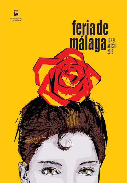 Cartel Feria de Málaga 2013