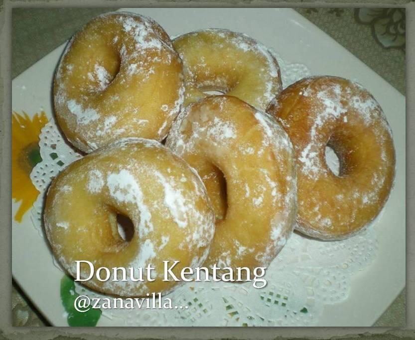 ZaNa's Villa: Donut Kentang...yg gebu...