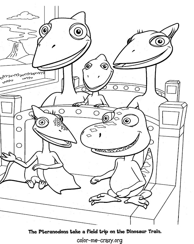 90 dinosaur train coloring pages are ready to be colored title=