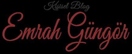 Emrah Güngör - Kişisel Blog
