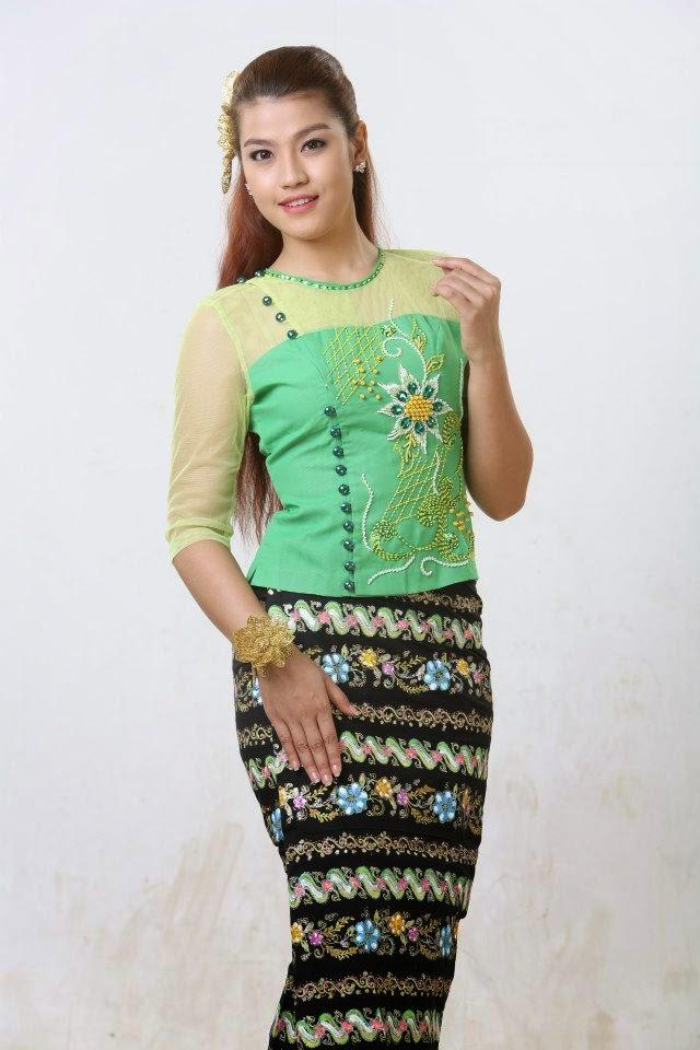 ชุดสาวพม่า น่ารักมั้ยครับ