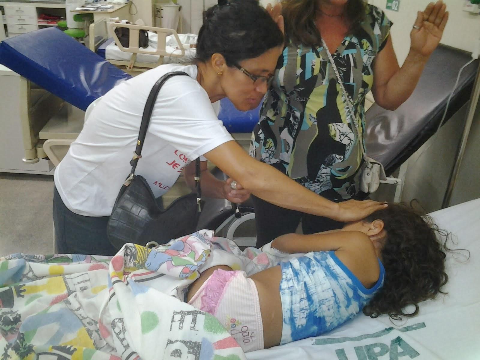 Evangelização na UPA de Rio Branco-AC