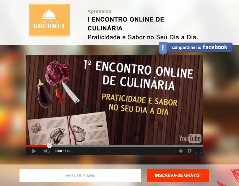 I Encontro Online De Culinária - Instituto Gourmet