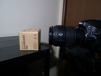Nikon 18-55mm リバースリング 撮影風景
