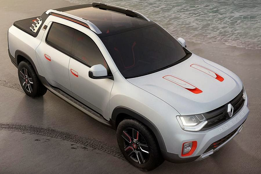 Renault Duster Oroch Concept (2014) Front Side