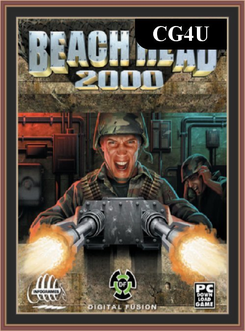 Beach Head 2000 Pc Game Cover | Beach Head 2000 Pc Game Poster