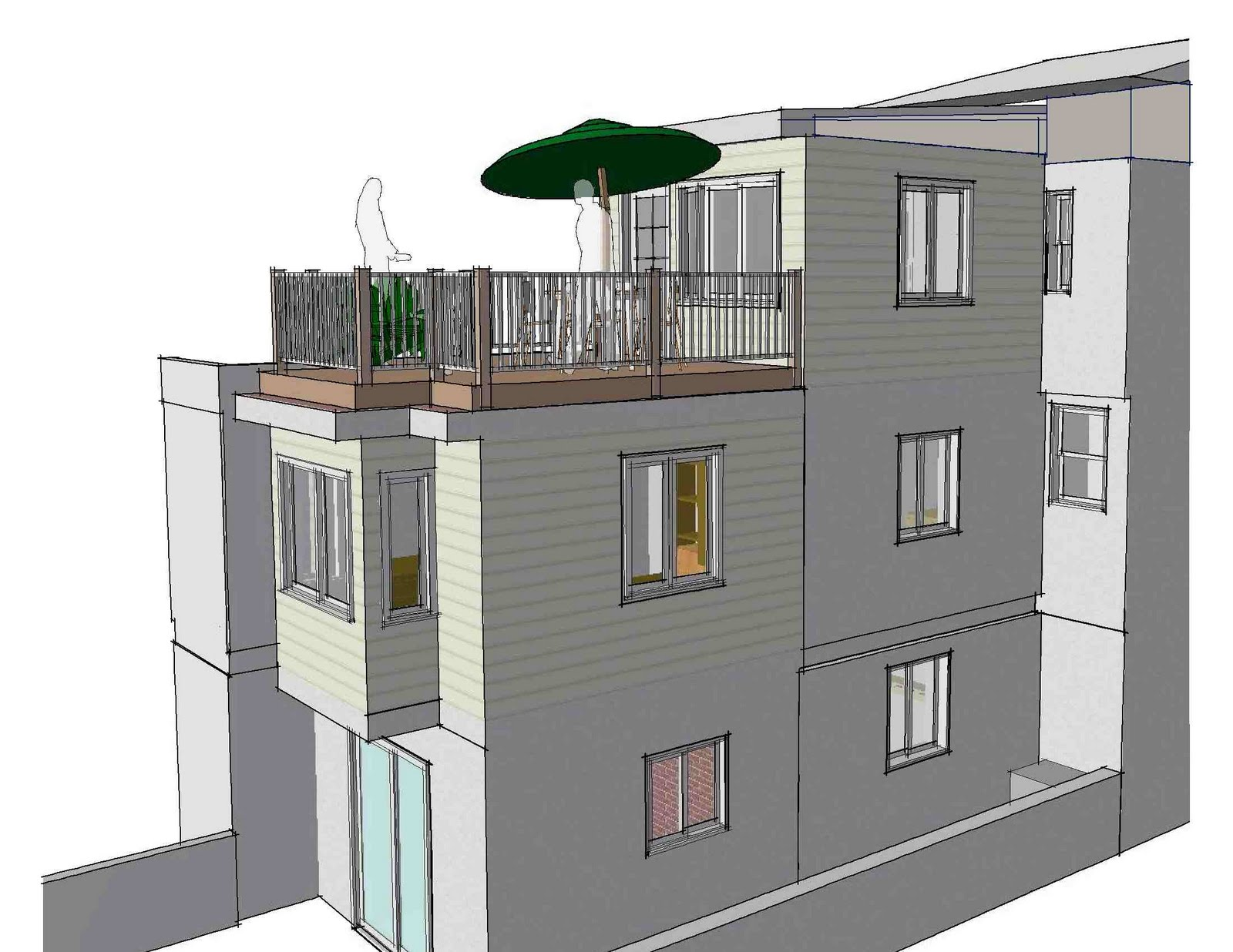 ... Complexity By Using A Reinforced Vinyl Roofing That Is Common On Condo  Decks (Duradek). The Builder (Springfield Construction) Also Proposed  Fiberglass, ...