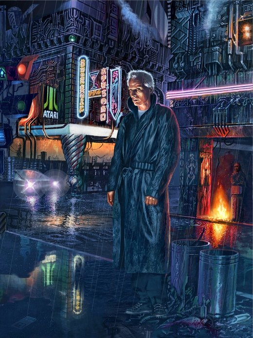 Blade Runner - Roy Batty por Harnois75