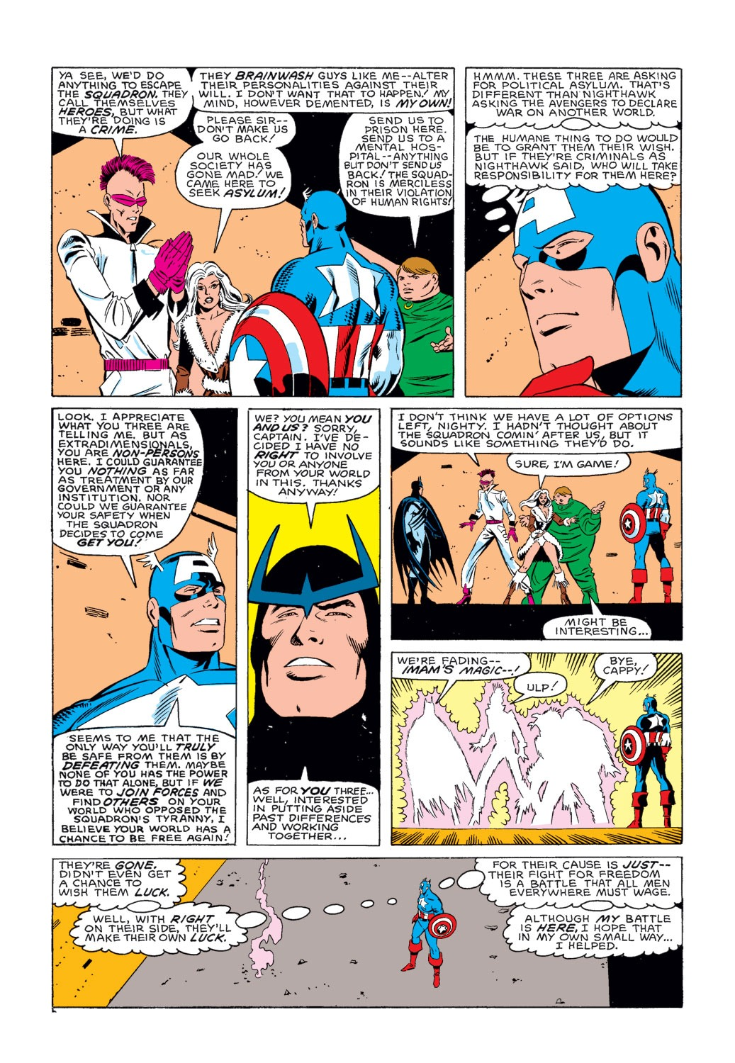 Captain America (1968) Issue #314 #242 - English 23