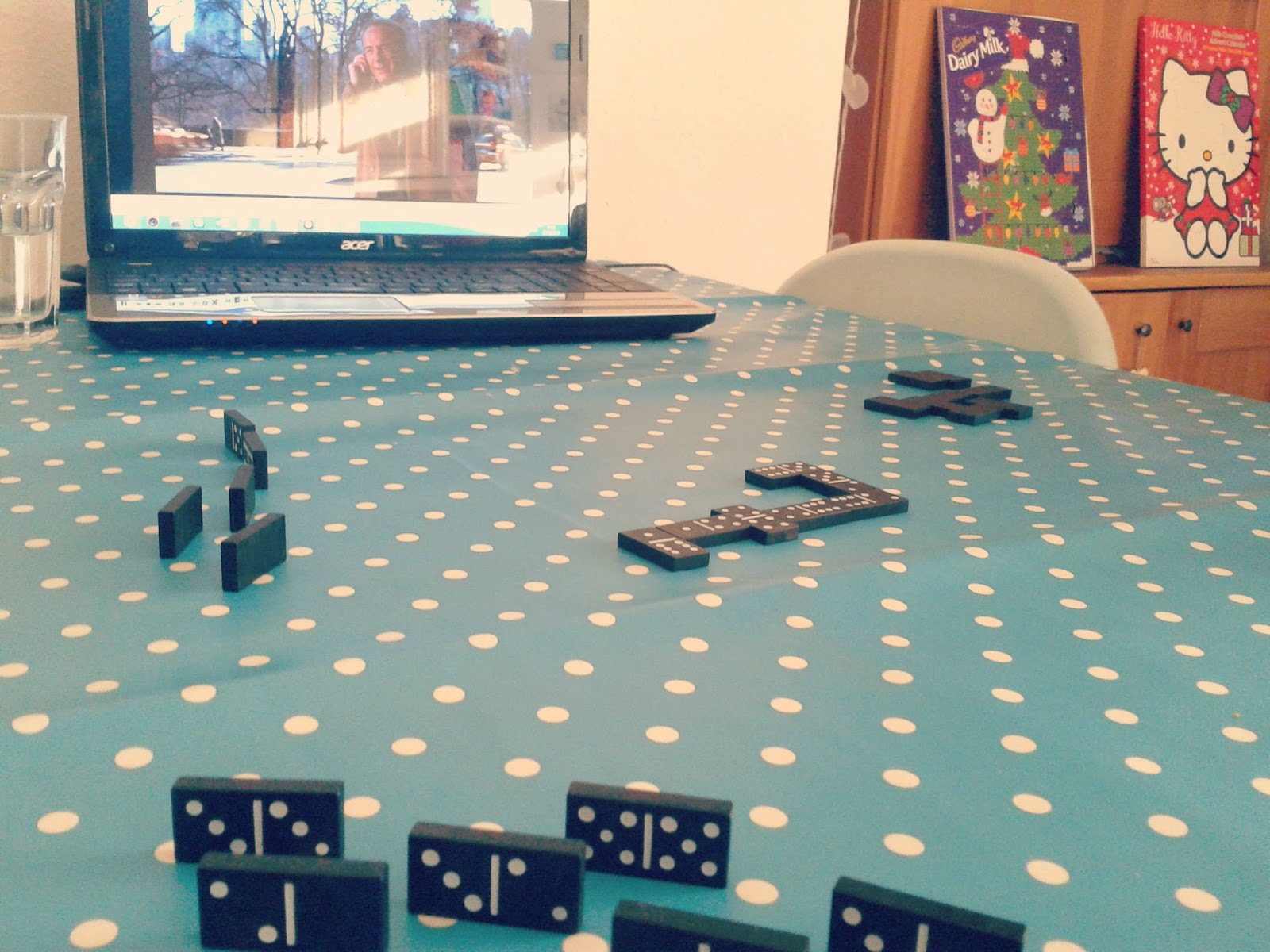 Project 365 day 358 - Christmas Eve Dominoes // 76sunflowers