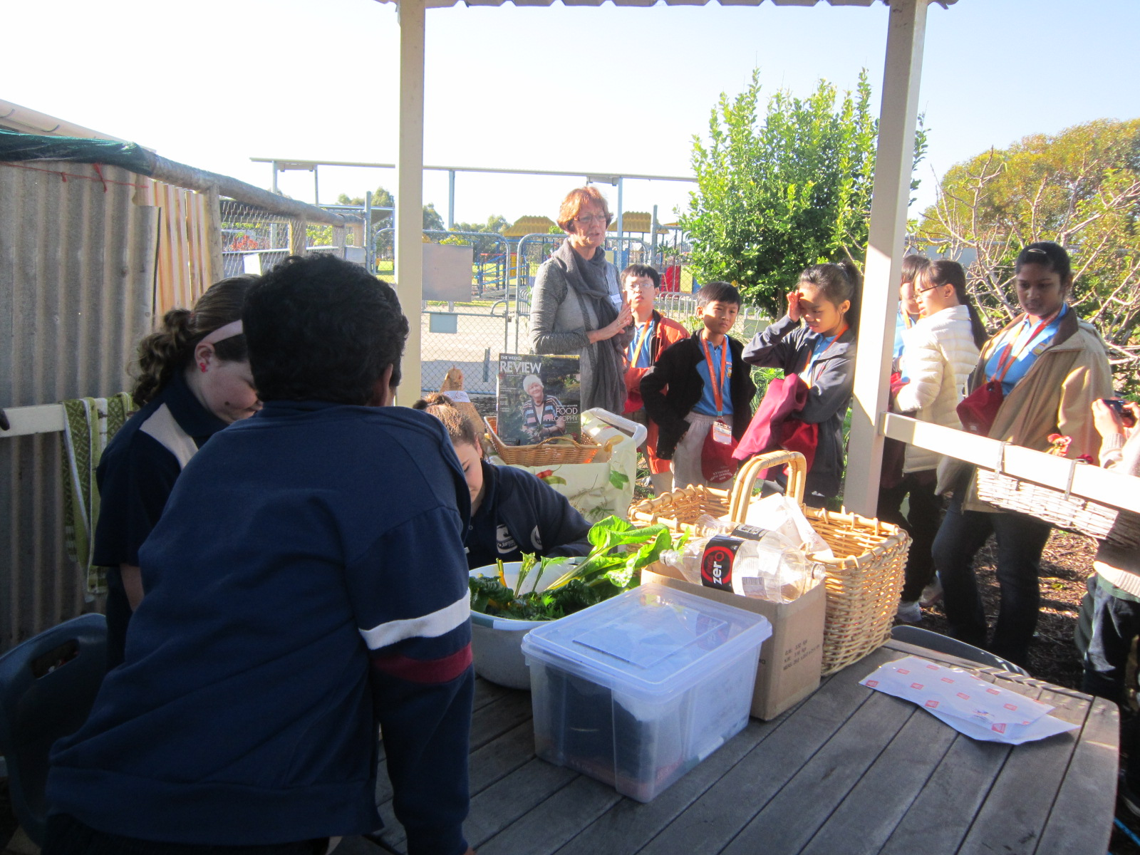 Stephanie Alexander Kitchen Garden National Program Global Classroom P5 Perth Australia Immersion Programme 2013