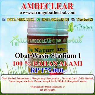 Obat Wasir Paket 1 De Nature Indonesia