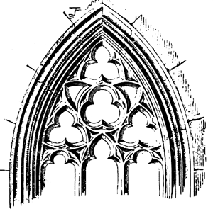 This Tracery Is One Of The Hallmarks What We Now Know As Gothic Architecture Furniture And Art Below See Tre Quatre Cinquefoils In French