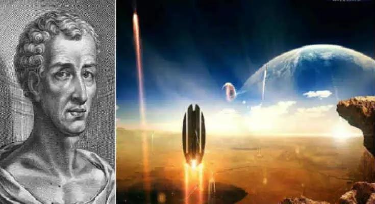 Το διαστημικό ταξίδι του Λουκιανού -Μια ιστορία  που ειναι αληθινή !