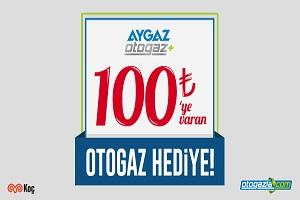 Aygaz'dan 100 TL Otogaz Hediye