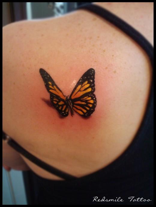 3d tattoos for women for Women s 3d tattoos