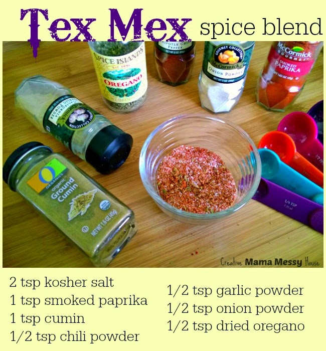 Lose the prepackaged spice blends and let this Tex Mex Spice Blend be your secret weapon for tacos, fajitas, chili, and more!
