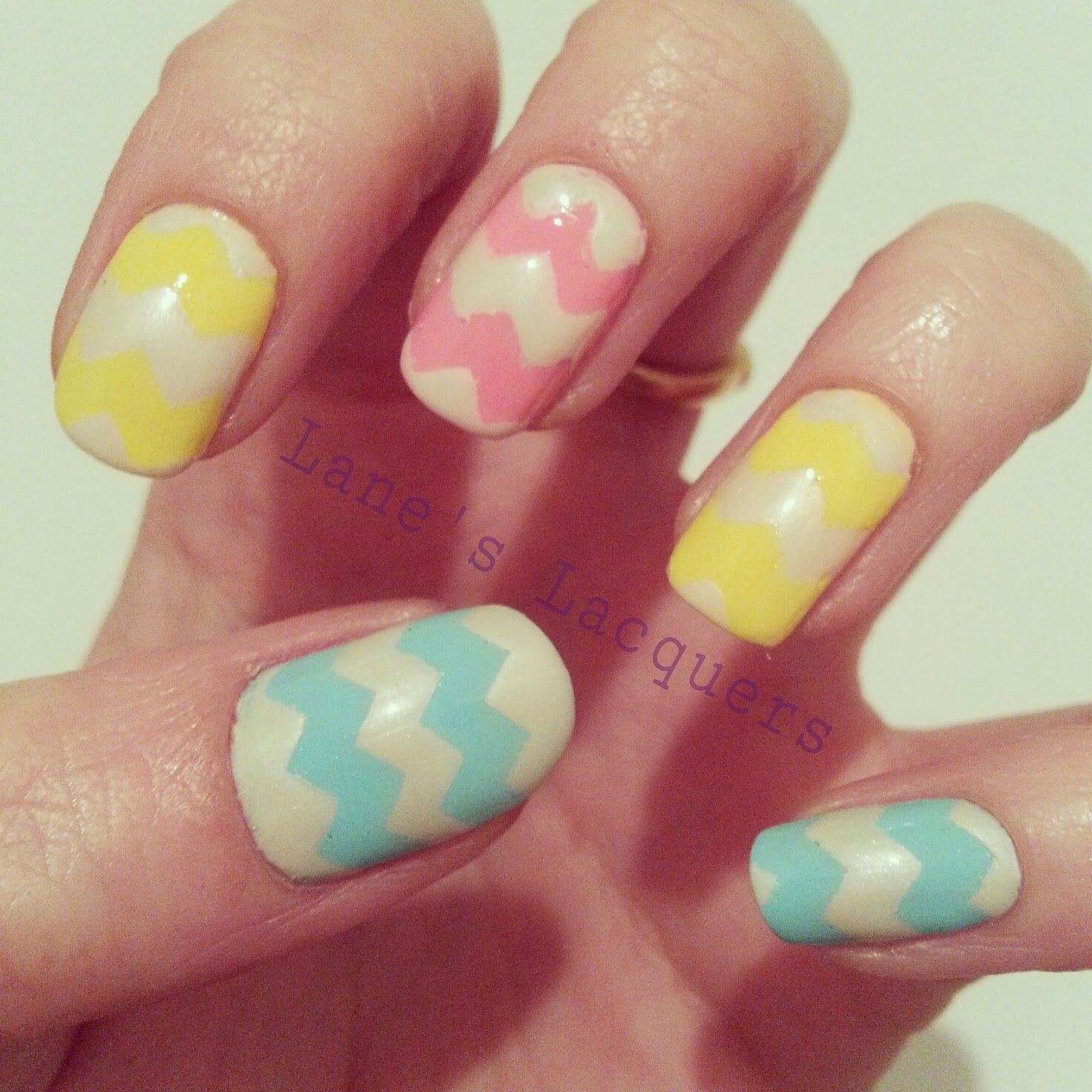 nails-inc-easter-chevron-nail-art