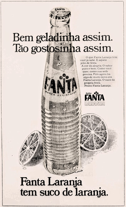 fanta. 1975. propaganda década de 70. Oswaldo Hernandez. anos 70. Reclame anos 70