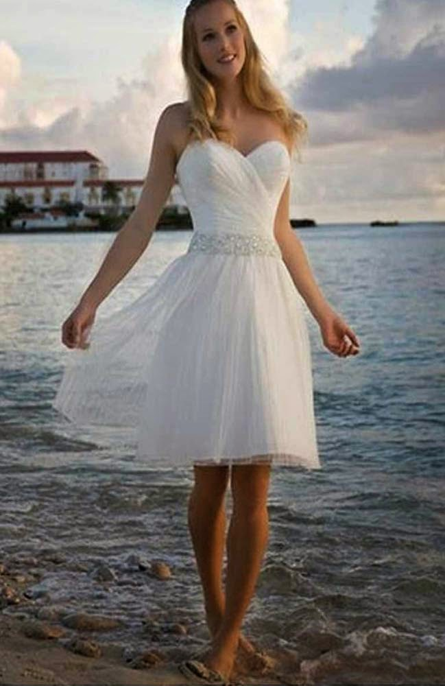 Casual Short Wedding Dresses for Summer Design pictures hd