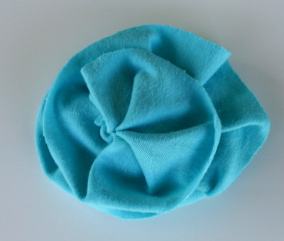 how to make fabric flower