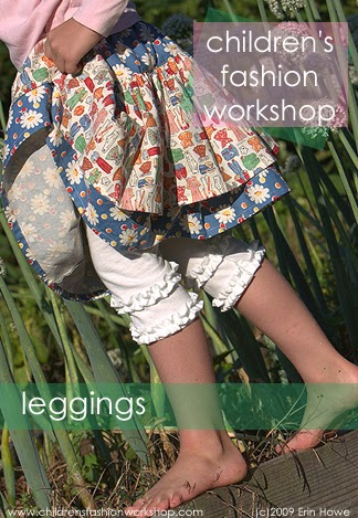 rufffle leggings sewing