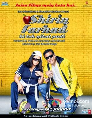 Shirin Farhad Ki Toh Nikal Padi 2012 Hindi HDRip 480p 300mb