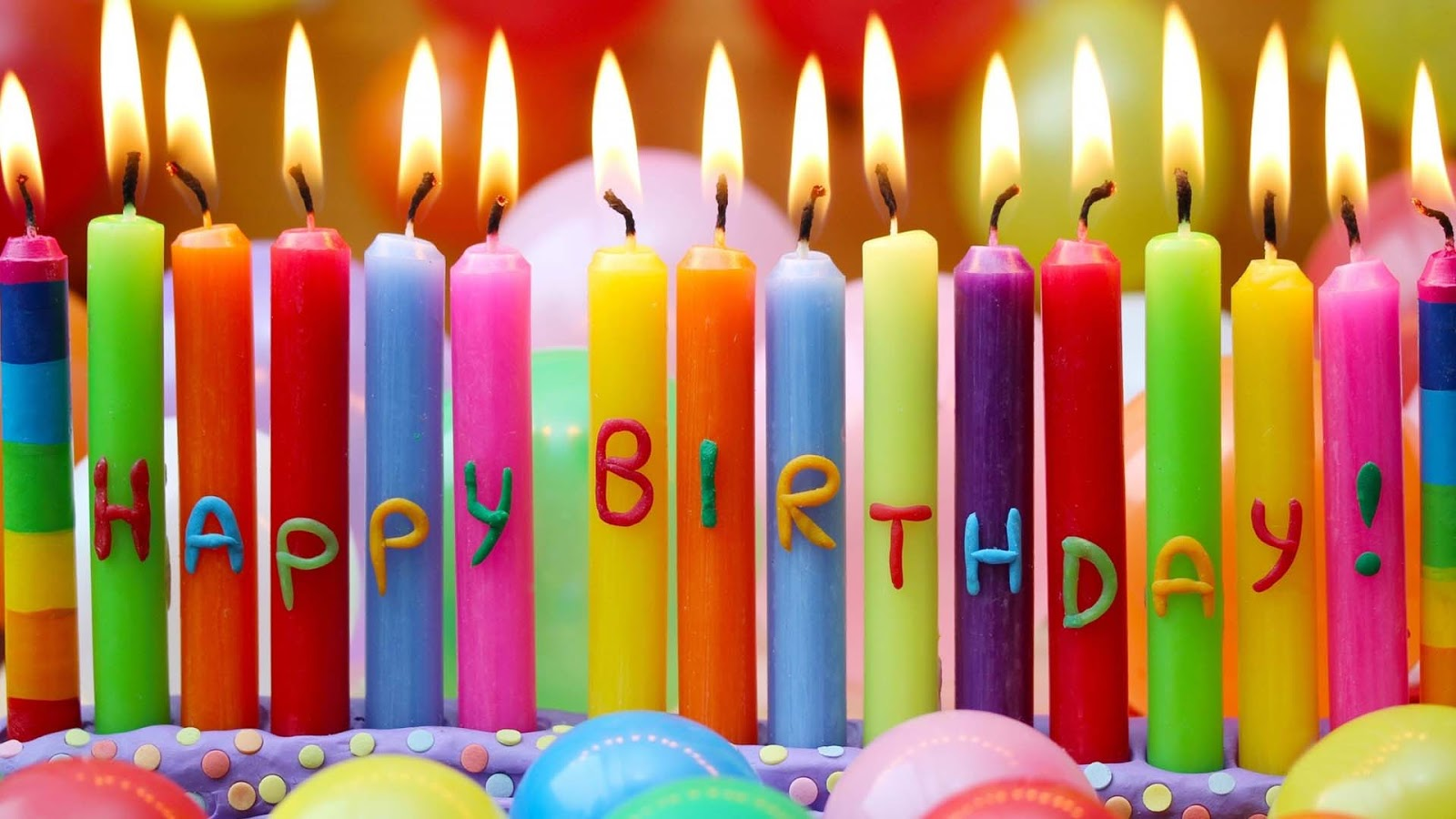 happy birth day candles wallpapers hd