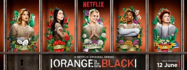 Orange is the New Black é uma série exclusiva do netflix e com montes de lésbicas presas