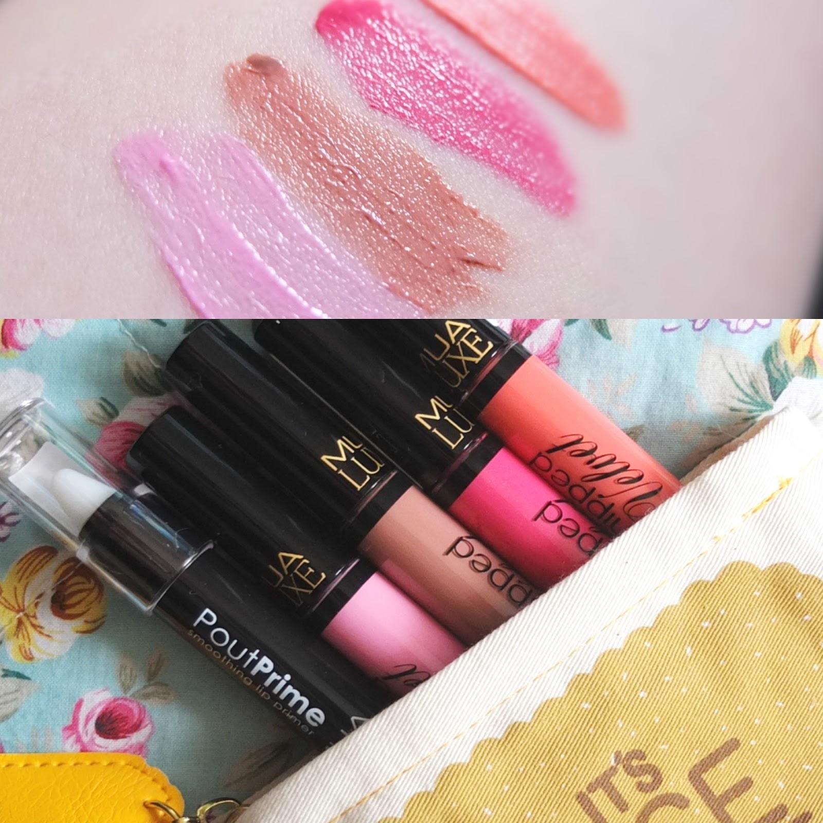MUA Whipped Velvet Lip Creams Review