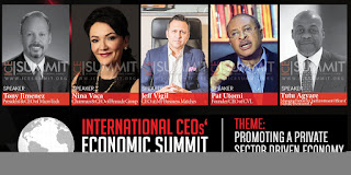 INTERNATIONAL CEOs' ECONOMIC SUMMIT 2016