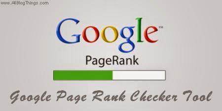 Check your Google page rank for free