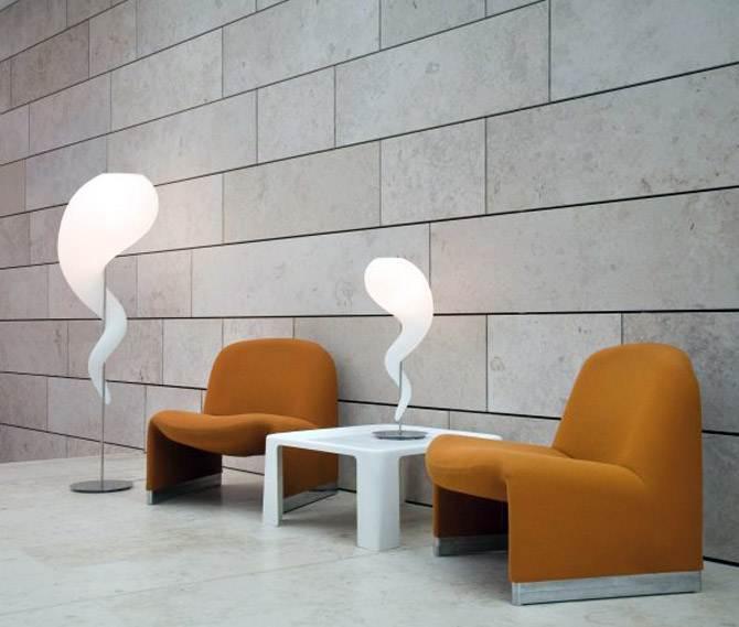 Sculptural Lighting Floor Table Lamp
