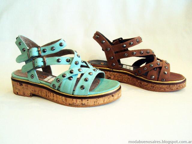 Sandalias bajas verano 2015 Avance Collection. Sandalias de moda 2015.