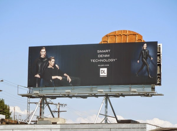 Smart denim technology DL billboard