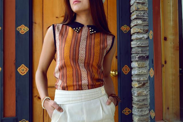 studded bhutanese style DIY