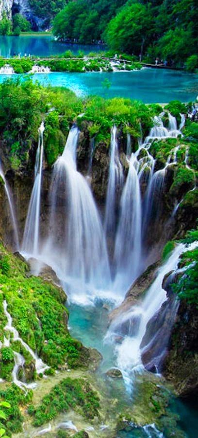 Plitvice Lakes National Park in central Croatia