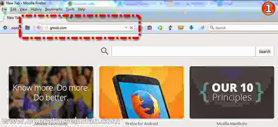 Cara membuat akun gmail baru, langkah-langkah daftar Gmail