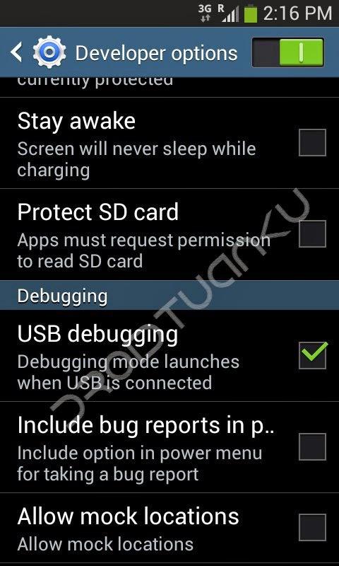 Cara Mudah Aktifkan USB Debugging Samsung Galaxy Ace 3