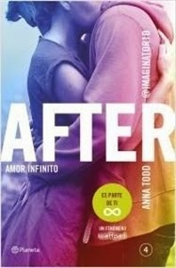 Ranking Semanal: Número 5. After. Amor Infinito (Serie After 4), de Anna Todd.