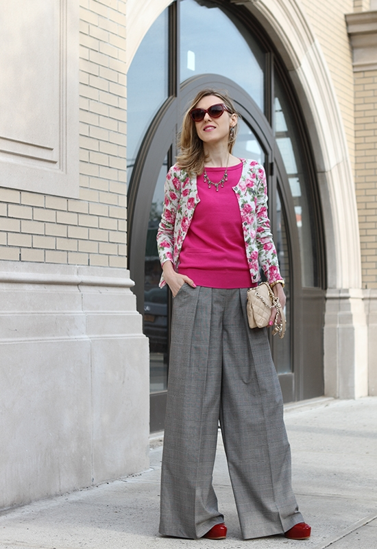 """Wide-Leg Trousers Love"" Outfit Post on ""The Wind of Inspiration"" Blog #outfit #look #style #fashion #personalstyle #fashionblog"