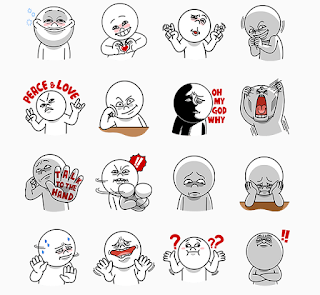 sticker line gratis