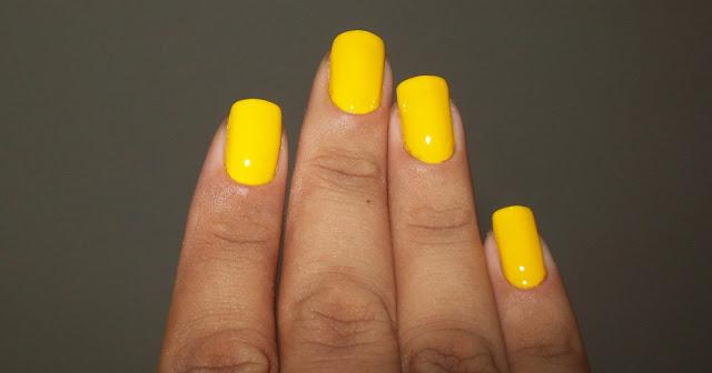 Esmalte Amarelo, Toque Final