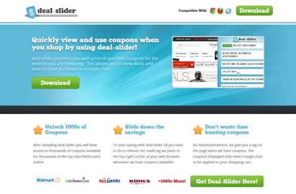 Deal Slider