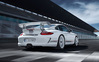 Limited edition racing car: Porsche 911 GT3 RS 4.0 back detail