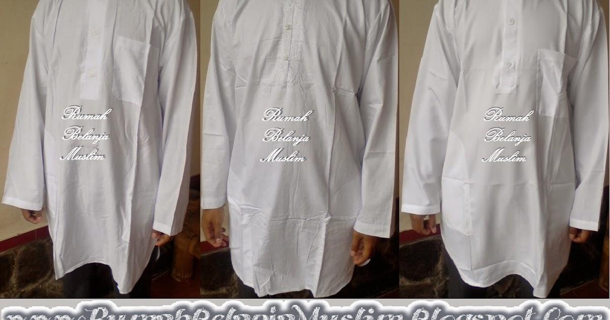 Jual Baju Koko Pakistan Putih
