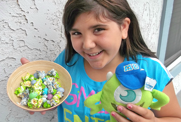 Monsters University Party Popcorn Mix